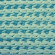 Blue wool knitted texture — Stock Photo #52630983