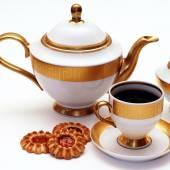 Serviço de chá elegante — Fotografia Stock