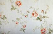 Vintage victorian wallpaper with floral pattern — Stock Photo