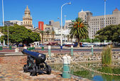 Cityscape with City Hall of Cape Town, South Africa. — Stock Photo