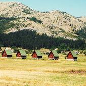 Ecotourism in mountains(Montenegro) — Stock Photo