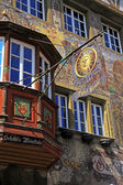 Medieval building in Stein am Rhein, Switzerland — Stock Photo