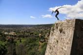 Modern sculpture, Saint-Paul-de-Vence, Provence, France. — Stock Photo