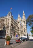 Rathaus (City hall) in Vienna, Austria.  — Stock Photo
