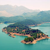 Mountain lake in Turkey — Stock Photo