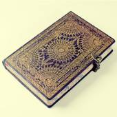 Old ornate notebook — Stock Photo
