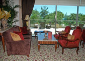 Lounge in classic luxury hotel — Photo