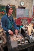 Street Food Festival in Kyiv, Ukraine. — Stock Photo