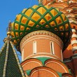 Detail of St. Basils cathedral on Red Square in Moscow — Stock Photo #55881355