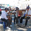 Постер, плакат: African street musicians on the Waterfront in Capetown South Africa