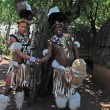 Постер, плакат: Zulu men South Africa