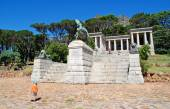 Rhodes Memorial monument in Cape Town, South Africa — Stock Photo