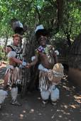 Zulu men, South Africa  — Stock Photo