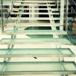Modern glass staircase — Stock Photo #56379461