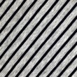 Striped grey and blue cotton fabric background — Stock Photo #56985687