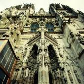 Gothic medieval St. Peter Cathedral  (Regensburg, Germany). — Stock Photo