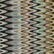 Blue, yellow and grey waves vertical lines pattern fabric — Stock Photo #58205109
