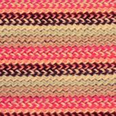 Mångfärgade stickning horisontella randig bakgrund — Stockfoto