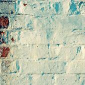 Grunge painted brick wall — Stock Photo