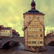 The Old Town Hall in Bamberg(Germany) in winter — Stock Photo #58906331
