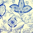 Vintage wallpaper with vignette pattern — Stock Photo #59743679