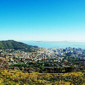 Capetown and Table Bay(South Africa) — Stock Photo
