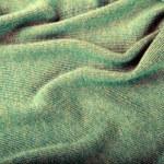 Green crumpled luxury cashmere background — Stock Photo #61993051