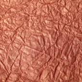 Gold crumpled tissue paper texture for background — Stock Photo