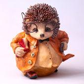 Old toy hedgehog — Stock fotografie