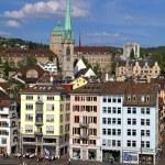 historic building in Zurich, Switzerland — Stock Photo #63166295