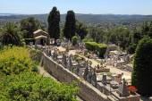 St. Paul de Vence cemetery, France — Stock Photo