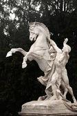 Horse statue, Hofburg complex, Vienna, Austria — Stockfoto