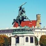 Archduke Charles of Austria Statue (Vienna, Austria) — Stock Photo #66554431