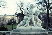 Angel statue, Vienna — Stock Photo