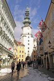 Città vecchia di bratislava, slovacchia. — Foto Stock