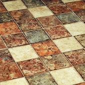 Terracotta tiles — Stock Photo