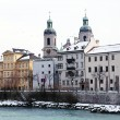 Winter view of Innsbruck, Tirol, Austria — Stock Photo #68103215