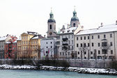 Winter view of Innsbruck, Tirol, Austria — Stock Photo