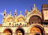 The Patriarchal Cathedral Basilica of Saint Mark,  Venice, Italy — Stock Photo