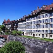 Vieille ville de berne, la suisse capital et l'unesco monde patrimoine ci — Photo