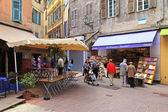 Old town in Nice, France. — Stock Photo