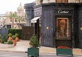 Cartier store near Monte Carlo Casino, Monaco. — Stock Photo