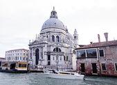 The Grand Canal and Basilica Santa Maria della Salute, Venice, Italy — Photo
