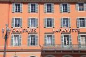 Gallery Lafayette, Nice, France — Stock Photo