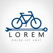 Bike symbol - vector illustration — Cтоковый вектор