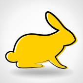 野兔 — 图库矢量图片