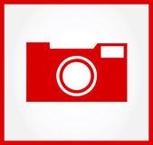 Camera symbol vector illustration — Stock Vector