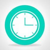 Klockan symbol vector — Stockvektor