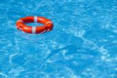 A lifeline in the pool 1 — Stock Photo