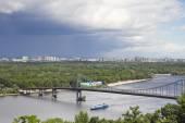 Summer landscape of Kiev — Stock Photo